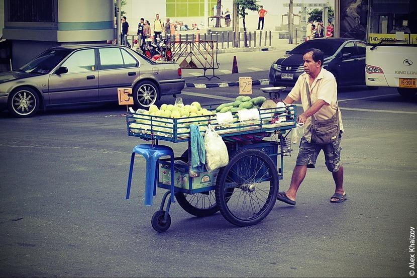 Тайский торговец