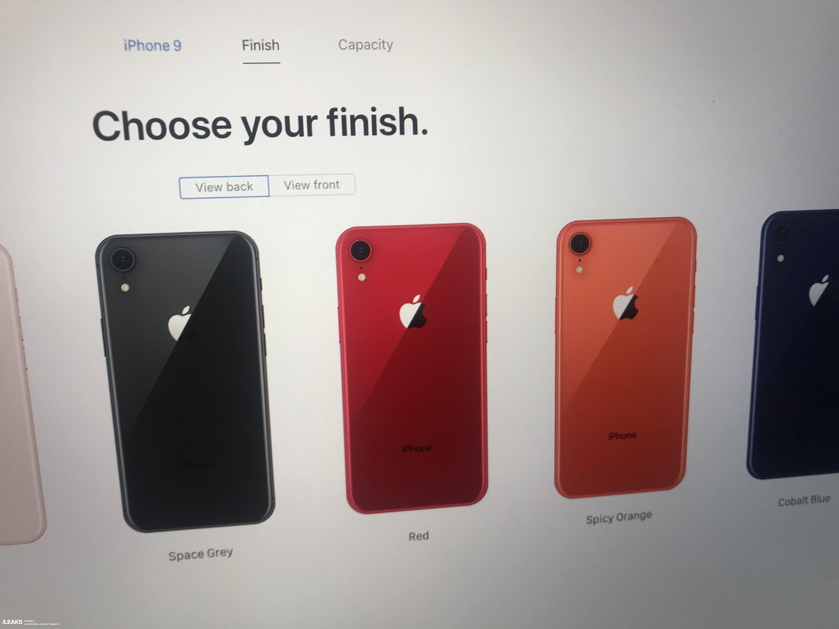 the latest 00d23 60fea Alleged Pre-Order Page For iPhone 9 Leaks, While China Mobile ...