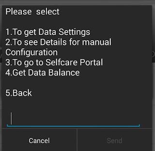 Get glo data balance