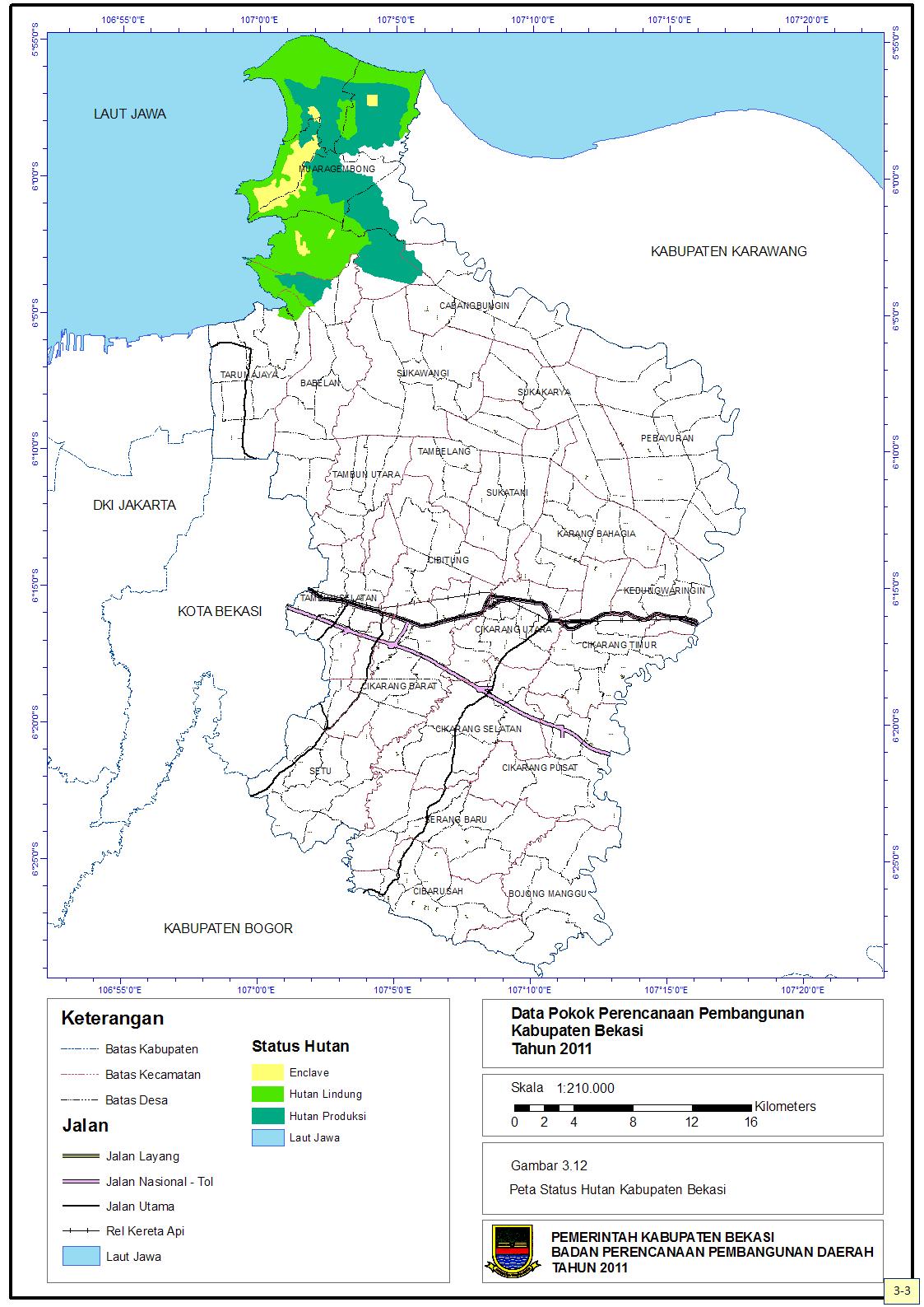 Bang Imam Berbagi: Luas Kawasan Hutan di Kabupaten Bekasi Capai 14.115,92 Hektar