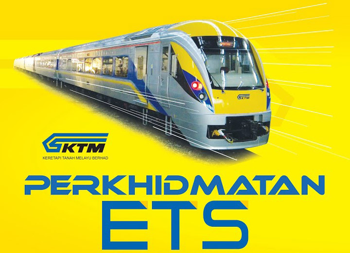 Jadual Perjalanan Terkini KTM ETS