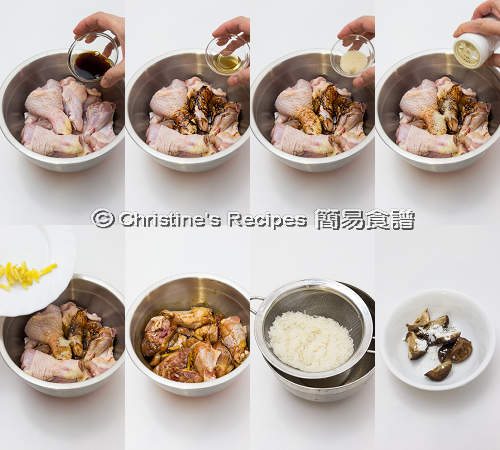 Shiitake Chicken and Rice in Instant Pot Procedures01