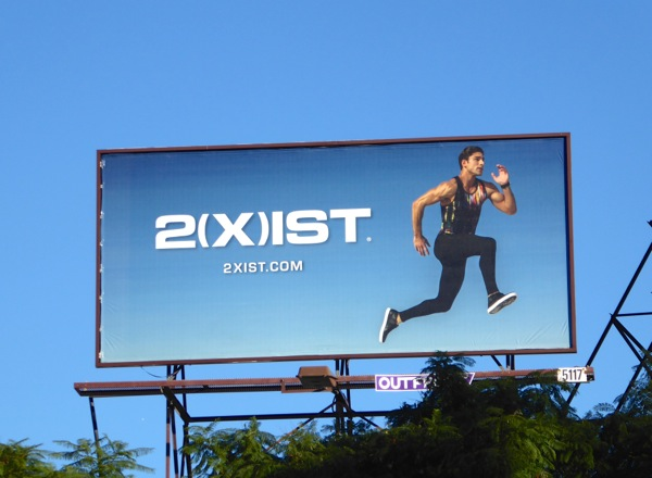 2Xist activewear billboard