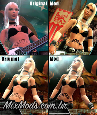 mod texture guitar hero III casey hd pc