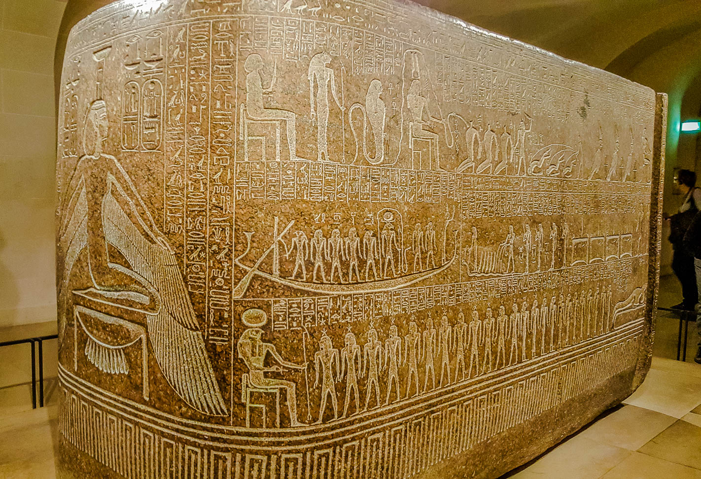 Sarcophagus box of Ramesses III