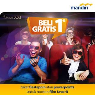 Promo cc mandiri xxi 2018 - 2019