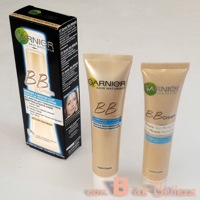 Review BB cream Garnier