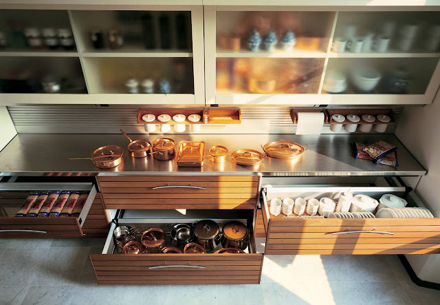 Рациональное использование пространства совершенной кухни