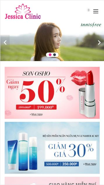 Blogger theme template mỹ phẩm đẹp