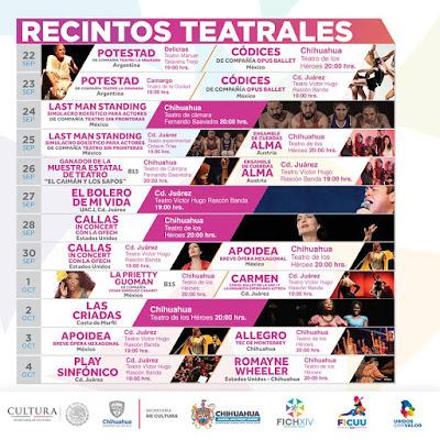 teatro festival internacional chihuahua 2018