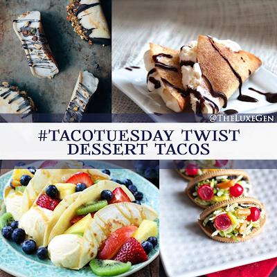 taco tuesday, recipes, dessert tacos, national taco day