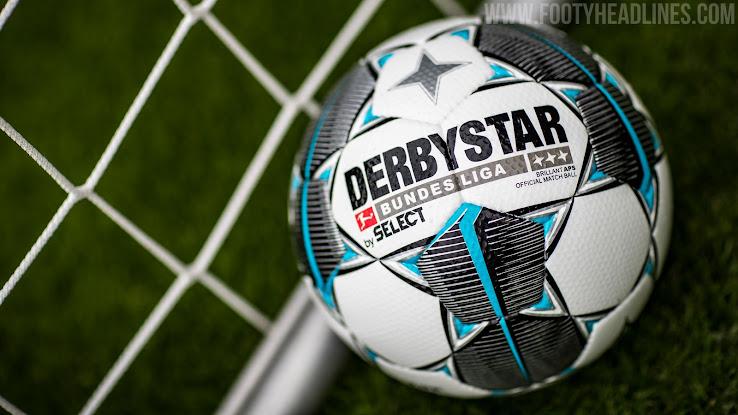 NEU Derbystar Clublogo Bundesliga Ball 2019//2020  Gr.5