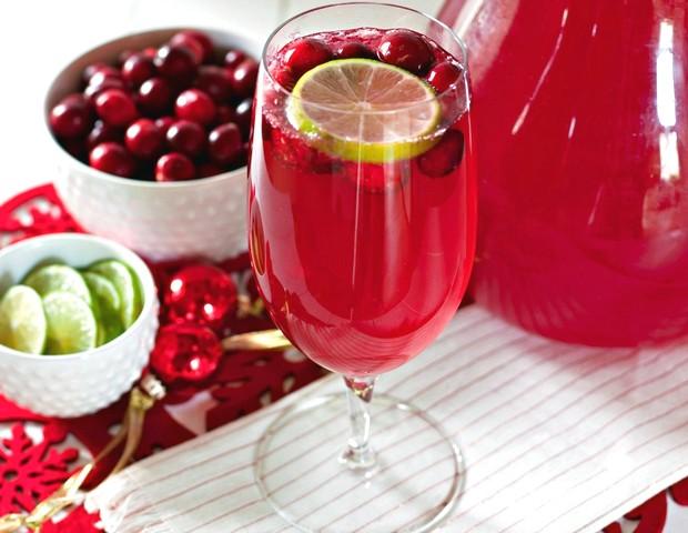 Cranberry Juice Delight Beverage