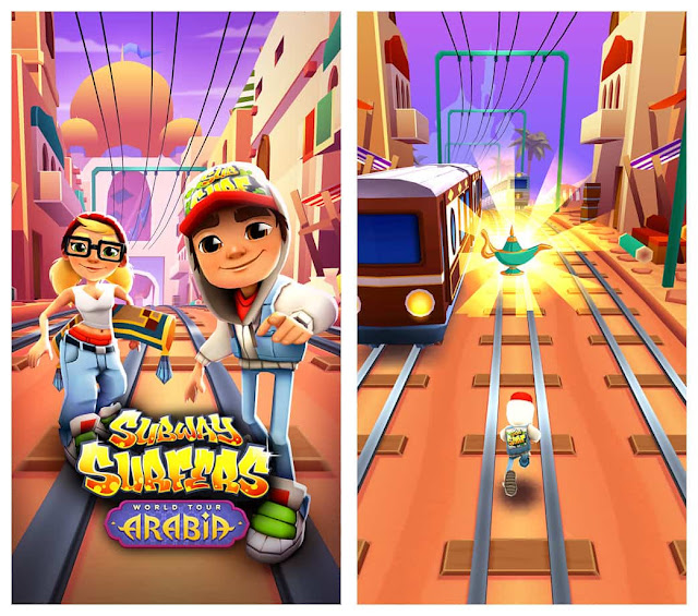 Subway Surfers Arabia Download Free