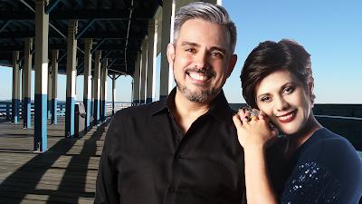 A dupla Eduardo e Silvana completam 25 anos de amor e música