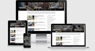omagazine blogger template responsive hight ctr fast loading