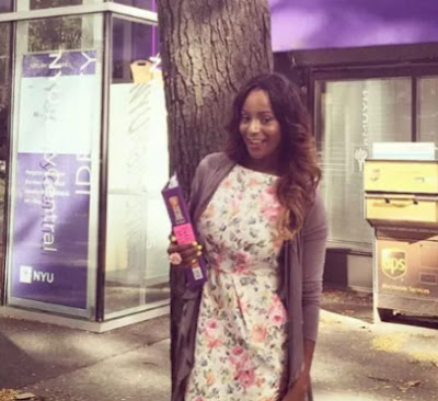 dj cuppy masters degree new york university
