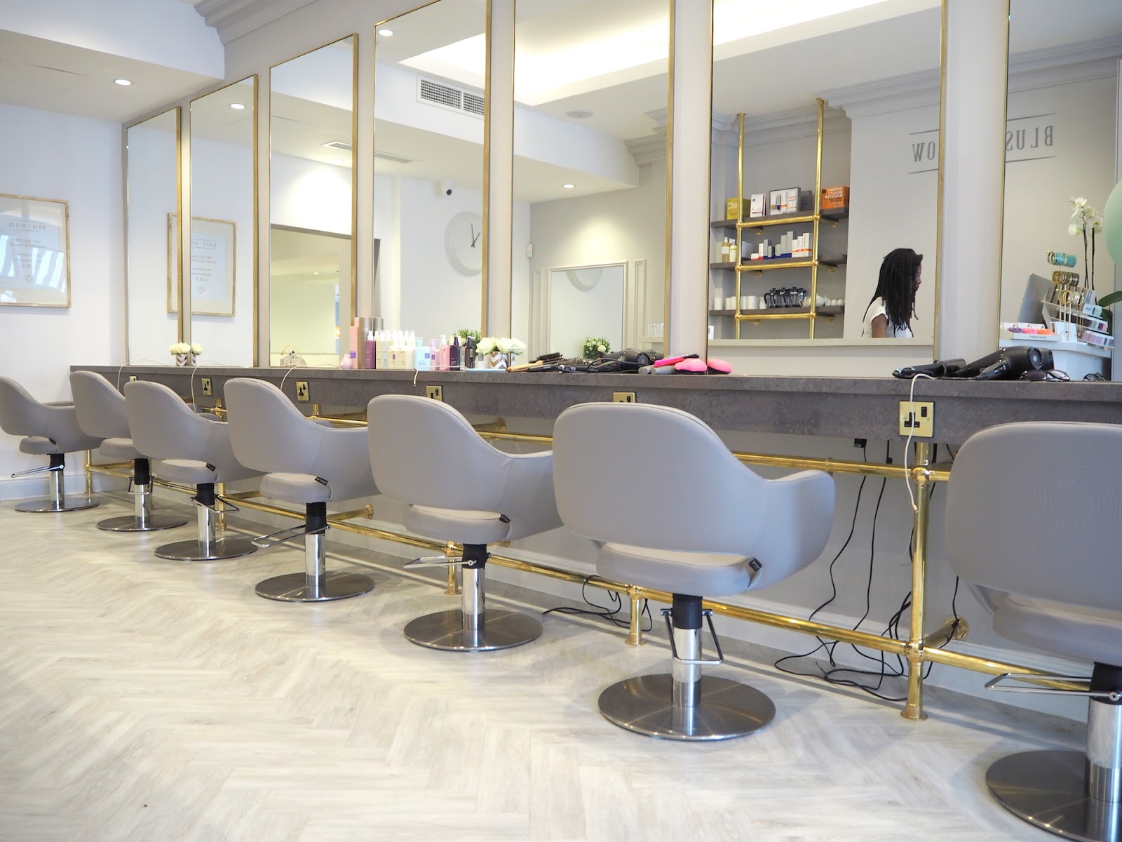 The Most Instagram-Worthy Salon: Blush + Blow