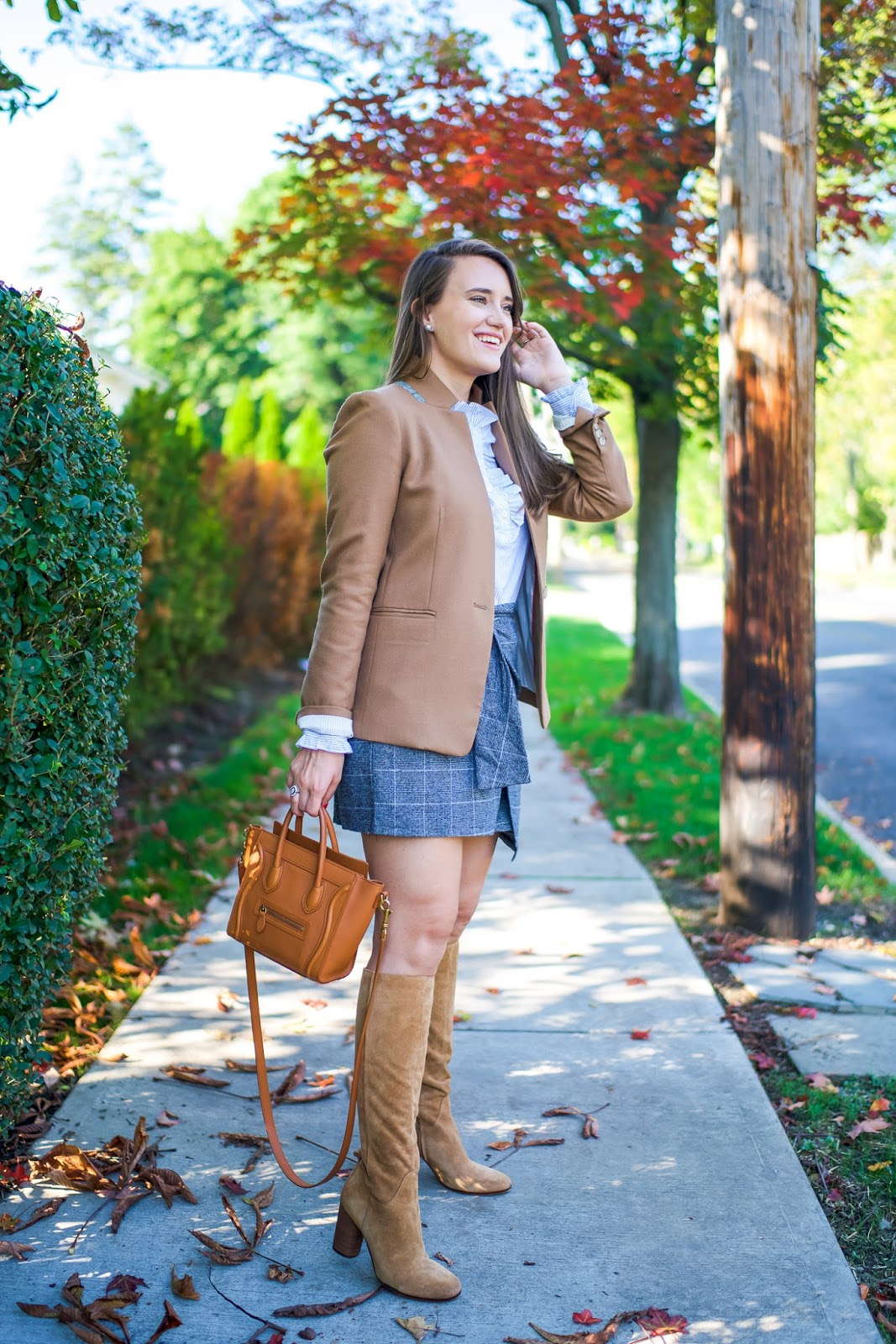 b50933a8949cf A New Plaid Skirt for Fall   Covering the Bases   Bloglovin'