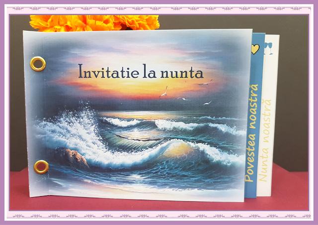 Invitatii Nunta Poveste de Nunta 7