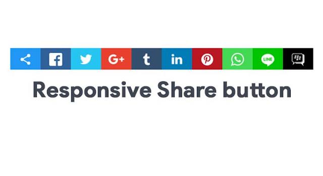 Cara Membuat Menu Share Button Whatsapp, Line, dan Facebook Dibawah Postingan