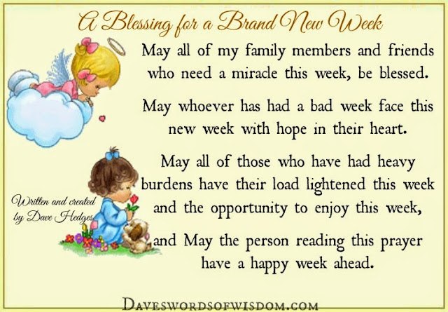 Image result for monday blessings for the new week