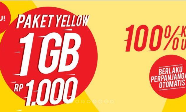 Cara Daftar Paket Yellow Indosat Termurah 2018