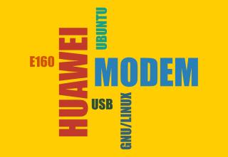 Modem Huawei e160 di Ubuntu Linux