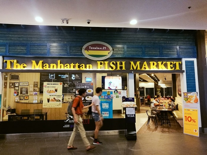 The Manhattan Fish Market at Terminal 21
