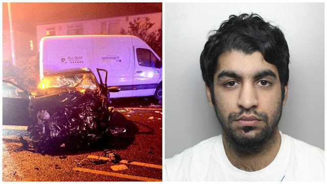 Brothers locked up for high-speed crash in Bradford which left their cousin permanently disabled