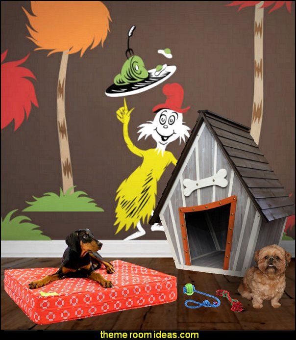 Houses and Paws Whimsical Dog House   pet gift ideas - gifts for pets - gifts for dogs - gifts for cats - creative gifts for animal lovers‎ - gifts for pet owners pet stuff - cool stuff to buy - pet supplies - pet cookie jars - dog throw pillows - dog themed bedding - cat throw pillows - paw pillows - gifts for cat loving friends - gifts for dog loving friends