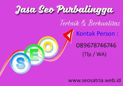 Jasa Seo Purbalingga - Seo Satria