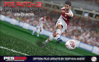 Option File PES19 PTE 3.1 Update 31.01.2019 By Sofyan Andri