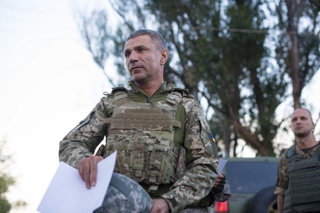 Командующий Военно-морскими силами ВСУ вице-адмирал Игорь Воронченко