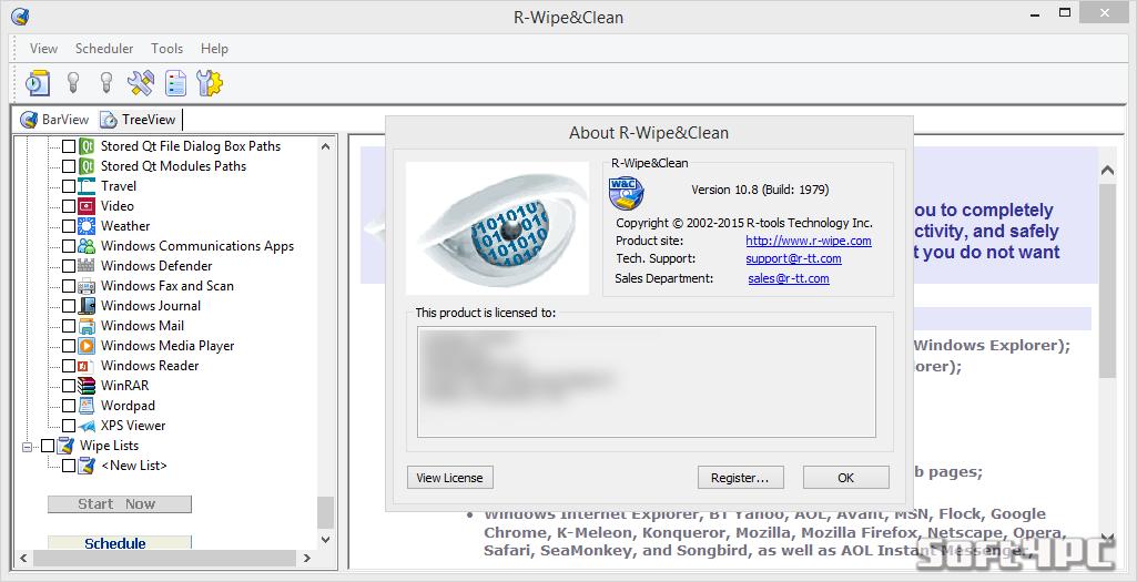 R-Wipe Clean 10.8 build 1979 + Crack (Corporate)