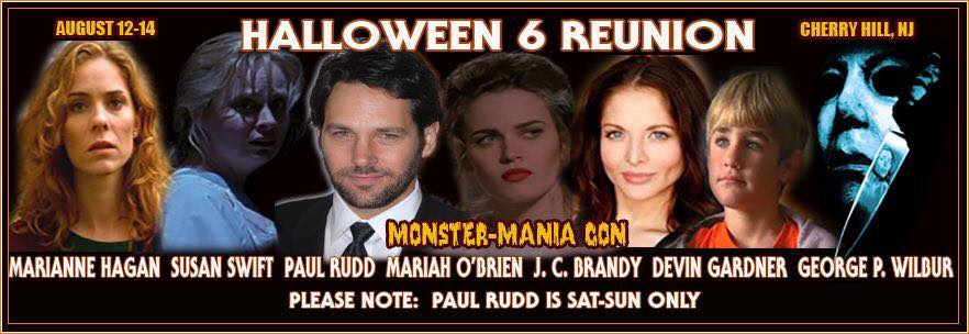 Paul Rudd Joins Halloween 6 Reunion At Monster Mania Halloween Daily News