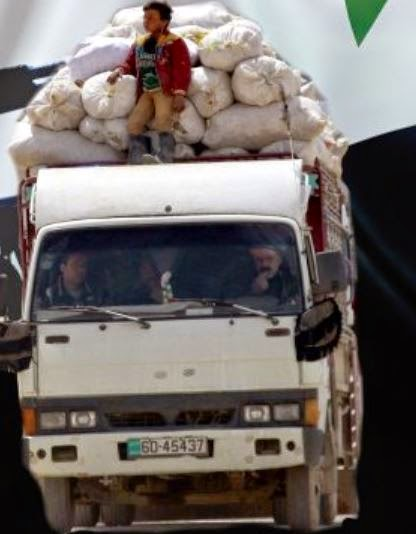 U.S. Humanitarian Aid Going to ISIS