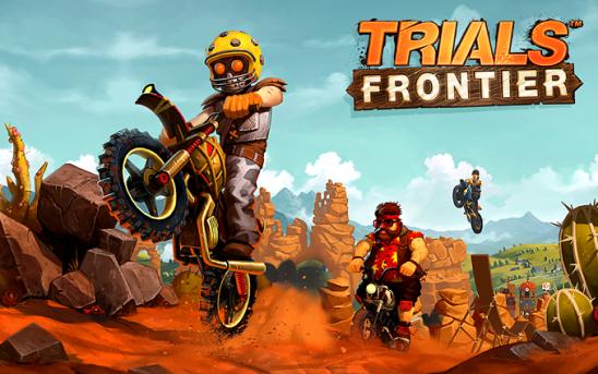 Trials Frontier Android MOD APK dan DATA (Unlimited Money/Fuel)