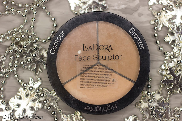 New year make-up 2018, step 14: IsaDora Face Sculptor 03 Nude