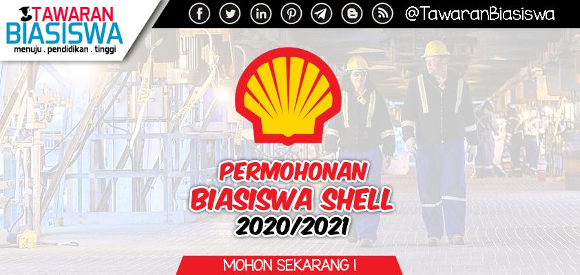 Permohonan Biasiswa Shell Scholarship