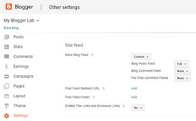 blogger-feeds-settings