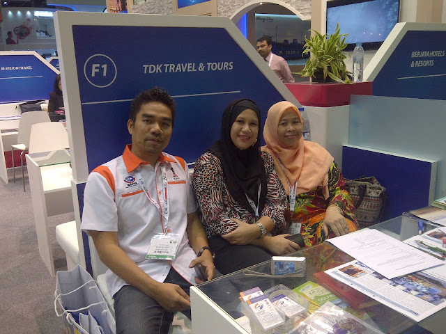Dubai 2013 / Part 2 - Arabian Travel Mart yang hectic