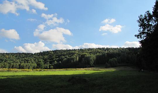 Góra Wykień (401 m n.p.m.).