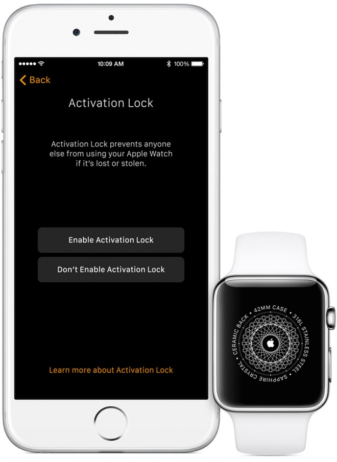 WatchOS 2.0 will be safer from theft with Activation Lock