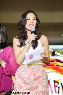 Ina Ongsiako in LG Product Launch