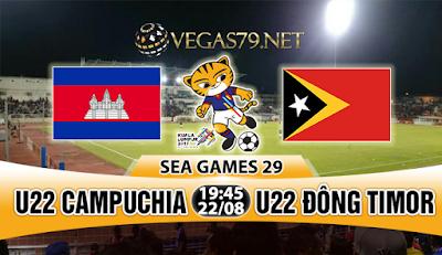 Nhận định, soi kèo nhà cái U22 Campuchia vs U22 Đông Timor