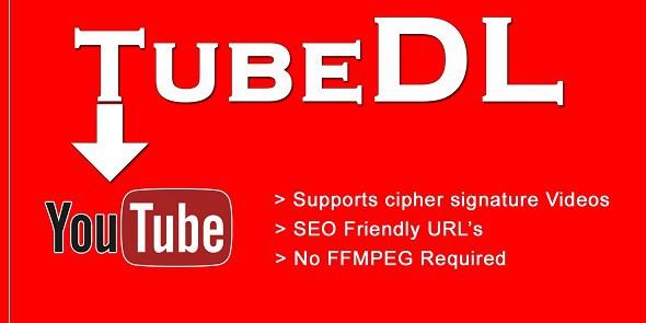 Tubedl v1.0 - Youtube Downloader Script PHP