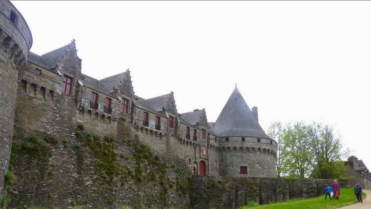 Castillo de los Rohan, Pontivy.