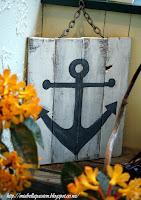 DIY Anchor art