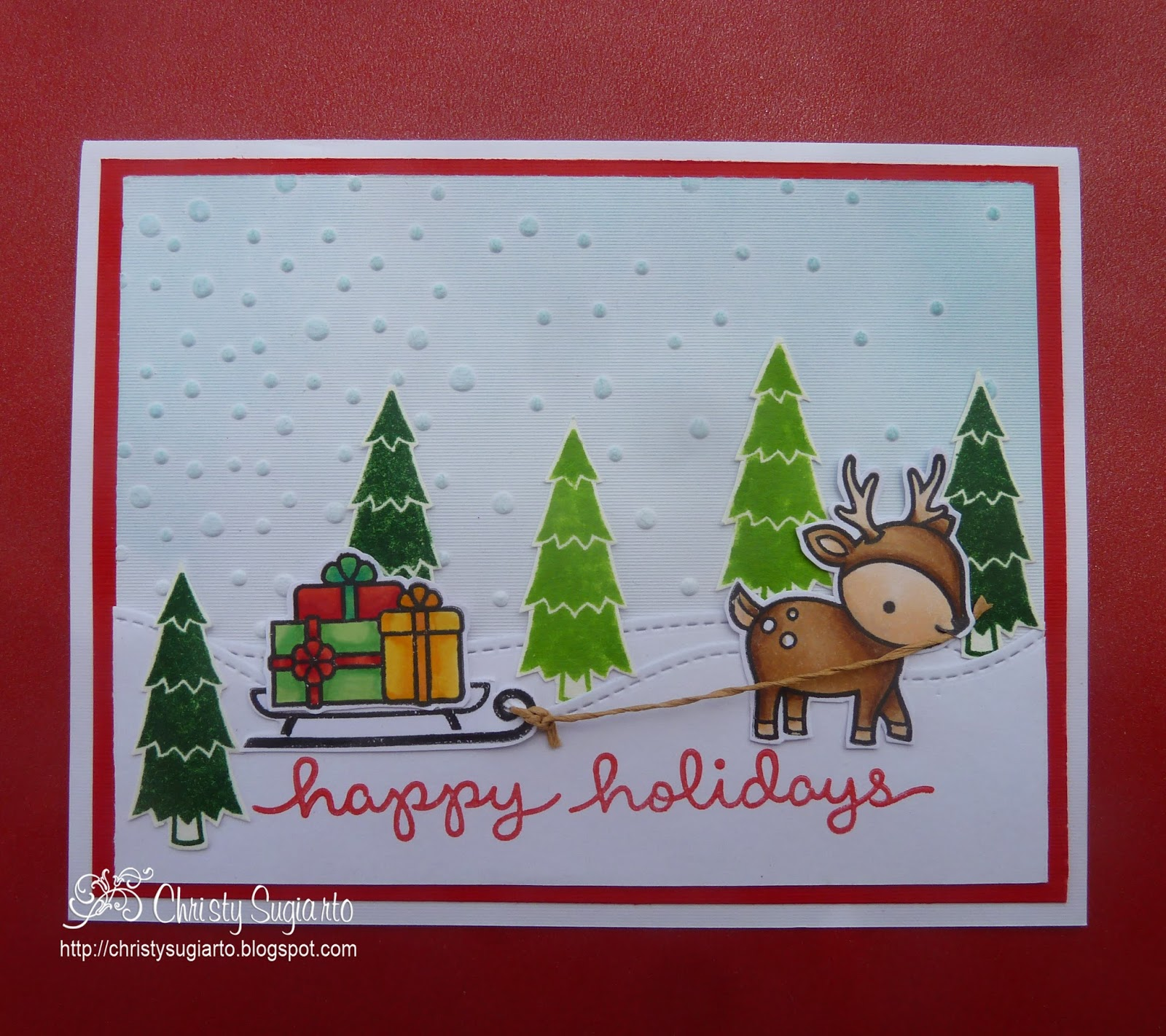 Christy Designs Happy Holiday